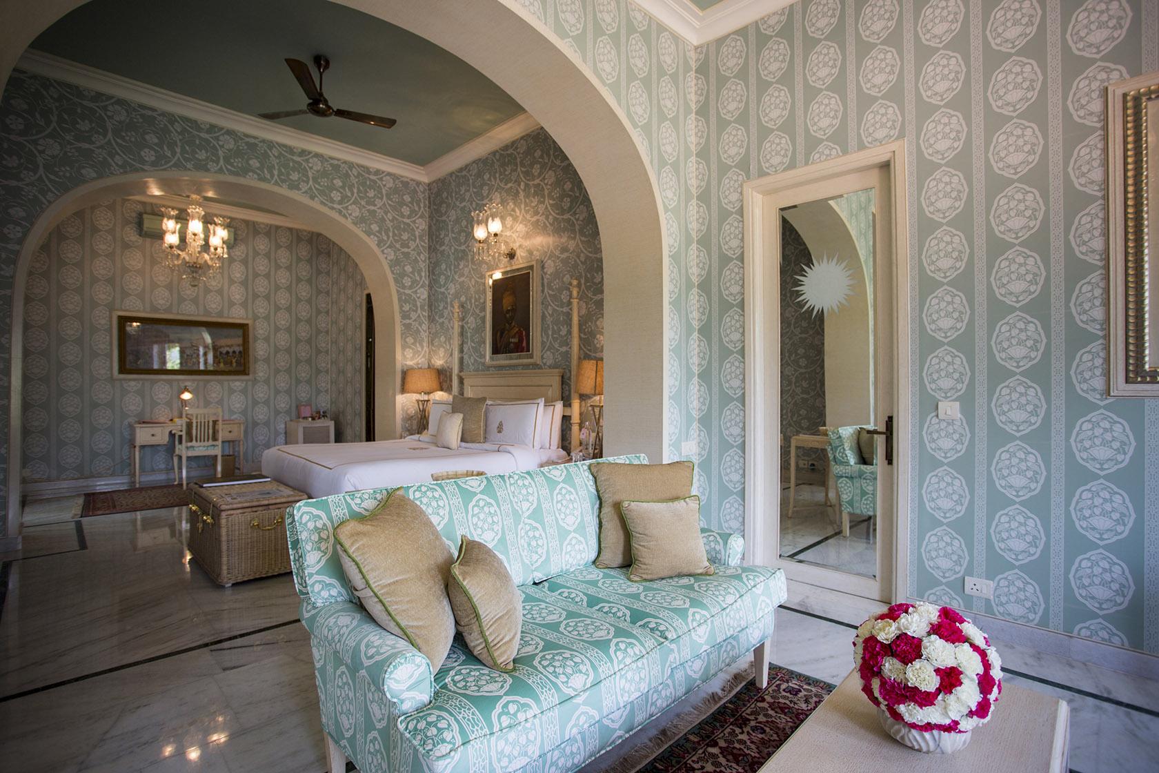 The Queen Elizabeth II Suite Rajmahal Palace