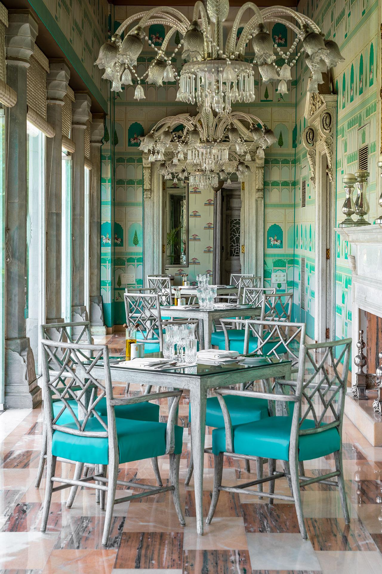 The Colonnade - Rajmahal Palace RAAS Jaipur x AG