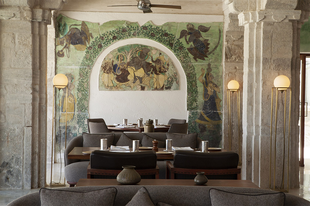 Dining at RAAS Devigarh