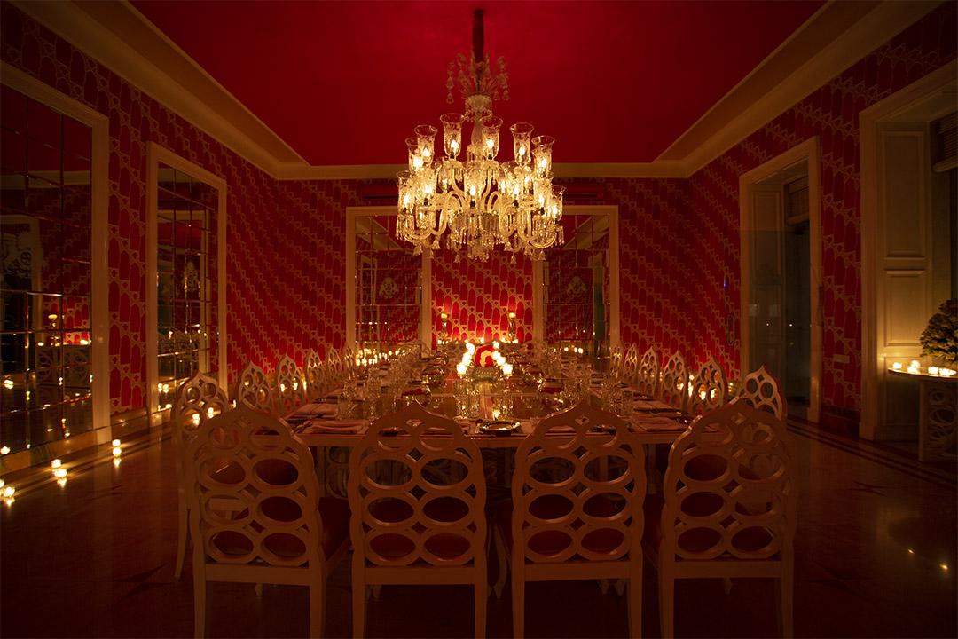 Dining at Rajmahal Palace, RAAS Jaipur